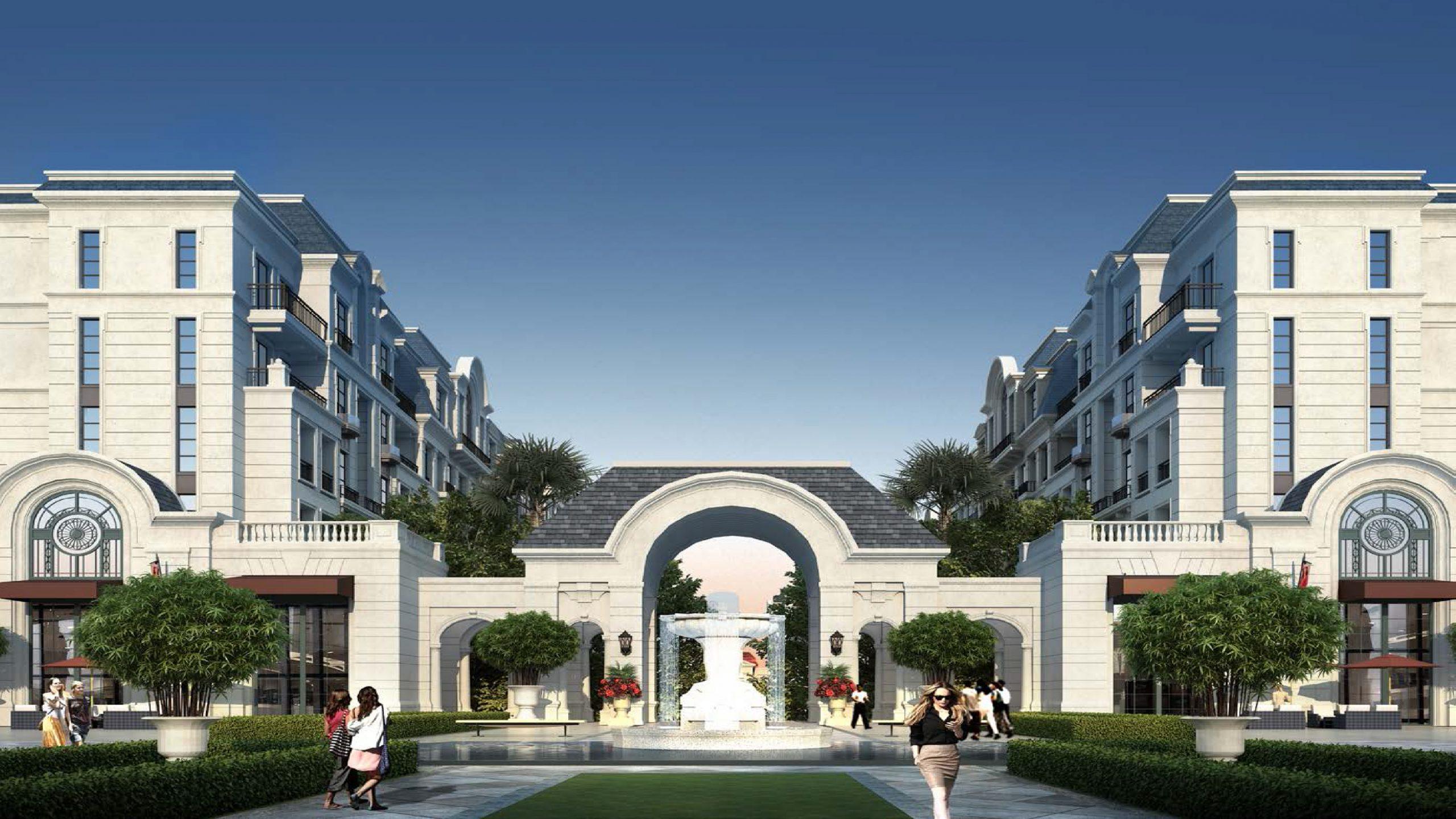 thiết kế parc villa zone 6