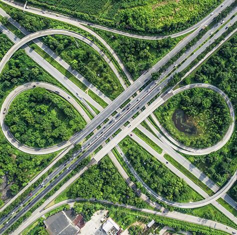 hệ thống hạ tầng giao thông đồng bộ tại swanbay